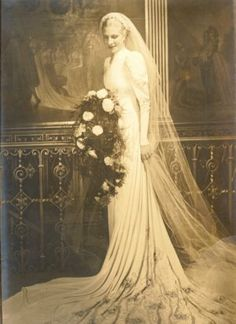 veil vintage bride