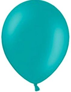 "Custom, Fun & Cool {Big Large Size 12"" Inch} 72 Pack of Helium & Air Inflatable Latex Rubber Balloons w/ Modern Design [in Light Teal Color] mySimple Products"