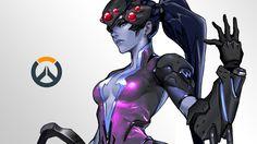 Download Widowmaker Wallpaper Overwatch Game Girl 4K 3840x2160