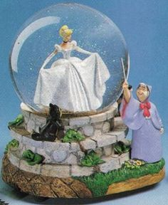 Disney Snowglobes Collectors Guide: Search results for CINDERELLA