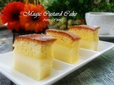 Aunty Young(安迪漾): 魔术卡士达蛋糕(Magic Custard Cake)