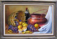 Risultati immagini per andreia buzon Painting Still Life, Still Life Art, Beautiful Fruits, Art Academy, Arte Floral, Marker Art, Land Art, Watercolor Landscape, Artist Painting