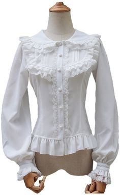 8a8190acf2f13e Lace Up Victorian Lolita Gothic White Blouse Women Long Sleeve Chiffon Sexy  Shirt Female Blouses 2017 Used In Matching Corset