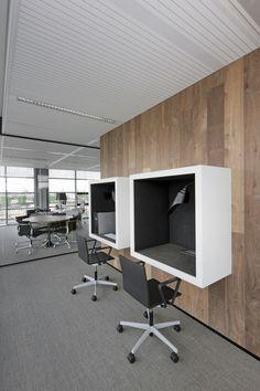 DOEN PROJECTS / working / Argos Energies Office by DOEN / Phonebooths / www.jeanbydoen.com