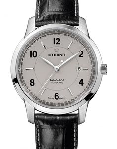 Eterna | Tangaroa Three-Hands | Edelstahl | Uhren-Datenbank watchtime.net