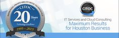CITOC provides IT Support and IT Services in Houston. We are best Houston IT Support Company.  Call 713.490.5000 our Houston IT Consultants now.