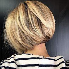 63 Flattering Bob Hairstyles on Older Women - Hairstyles Trends Inverted Bob Hairstyles, Bob Hairstyles For Fine Hair, Short Bob Haircuts, Celebrity Hairstyles, Wedding Hairstyles, Short Hair Cuts, Short Hair Styles, Glamorous Hair, Great Hair