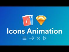Icons Animations Using Flinto - YouTube sketch animation