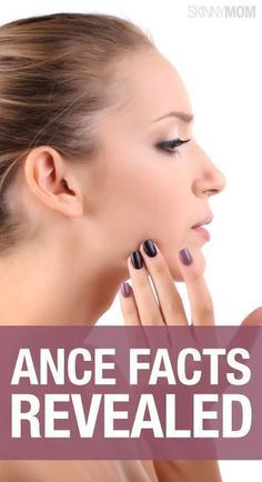 Get the real facts on treating acne.