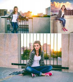 Urban Senior Girl Photo Ideas | Sherri Strawn Photography, Derby, KS