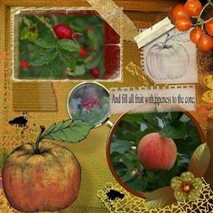 Day 30 of #ksdphotochallenge my ode to #autumn #digitalscrapbooking