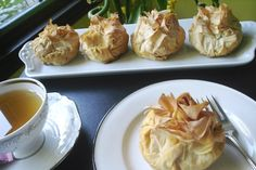 Baked Apples in Phyllo Dough