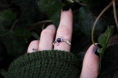 Amethyst and Sterlingsilver Faerie Jewellery; www.etsy.com/de/shop/WildlingJewellery