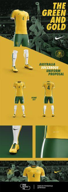 Australia Uniform Proposal on Behance