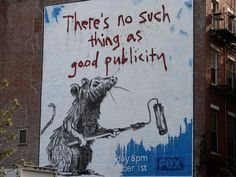 Good Publicity #Banksy
