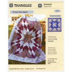 Primo Star Quilt Pattern and Thangles
