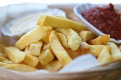 Ein Klassiker, der nie fehlen darf! Fried Potatoes - gibt´s auch in Sweet!