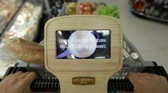 Tecnología y asesoramiento: carros inteligentes sugieren recetas en tiempo real #food #alimentacion #hellmanns #tecnologia