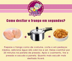 Aprenda como DESFIAR O FRANGO em segundos! Veja mais em nosso blog: http://dicasdacasa.com/dicas-na-cozinha/
