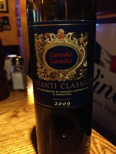 ^2009 Lamole di Lamole Chianti Classico - Dark ruby red in color. Intense and complex aromas of fruit, dark and red, spices, and flowers. Dry, wonderful in the mouth. Balanced and harmonious with the nose. One of the best Chianti Classico bottles I've tried.