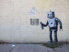 Bansky | Vea estas fantásticas obras de arte urbano! #decorarunacasa #arteurbano #bansky