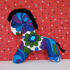 """Brand New Fabric Pony by Little Toucan - Made by """"skinibears"""""""