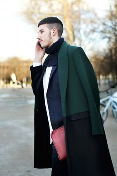Green, Navy, White, Red - Simply Chic 10 « Best of Street Style - New York « maxmayo.com