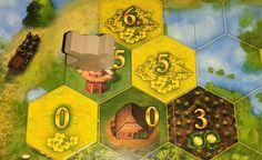 Construindo moinhos emSeeland, nesse fantástico jogo de tabuleiro. Leia mais em themitm.blog.br