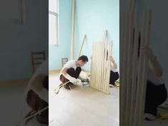 مدهش ما قام به هذا الرجل بتحويل كوخ الى منزل فاخر وصنع اثاث عصري بيده فقط . فيديو رائع. - YouTube Home Deco, Home_decor