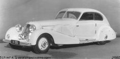 Mercedes 500 K Stromlinienwagen from 1935. Custom one-off made for a customer in Dutch East Indies.