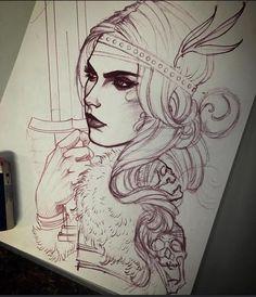 Jeff Norton - pencil sketch