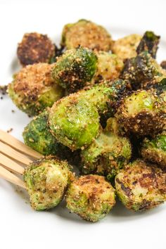 "Quoted, ""these are the best Brussels sprouts ever."""
