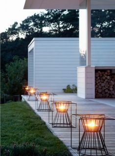 Lighting idea and landscaping design