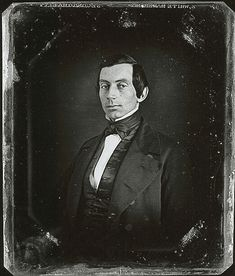 """The Earliest Known Photo of Abraham Lincoln. c. 1840."" ""February 12, 1809 – April 15, 1865) was the 16th President of the United States, serving from March 1861 until his assassination in April 1865. Lincoln successfully led his country through its greatest constitutional, military, and moral crisis – the American Civil War – preserving the Union while ending slavery, and promoting economic and financial modernization."""