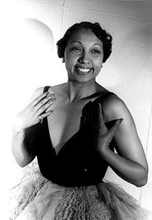 Josephine Baker 1949 Fotograf: Carl van Vechten