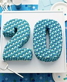 m & m cake via Martha Stewart
