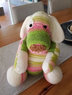 Puppy Love Toy knitt