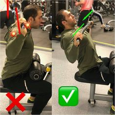 Back exercises | thrust of the upper block Gym Tips, Gym Workout Tips, Fun Workouts, Muscle Fitness, Fitness Tips, Fitness Motivation, Personal Fitness, Personal Trainer, Bora Malhar