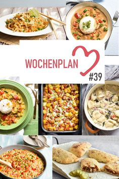 Weekly schedule # Varied recipe ideas for a week. – Famous Last Words Clean Eating Recipes, Healthy Recipes, Eating Clean, Curry, Vegetarian Snacks, Vegetable Pasta, Easy Cooking, Food Preparation, Eating Habits