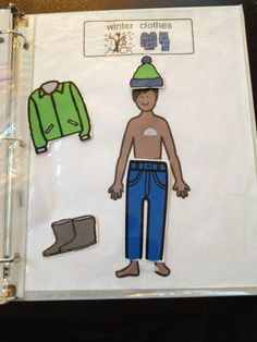 Homework Binders- function tasks that could go home in a binder.