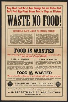 waste no food image