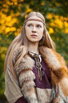 Viking lass.