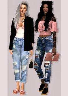 Sims 4 CC's - The Best: Clothing by Lumy Sims