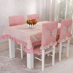 Plastic Chair Covers Sewing Class Dinning Table Chaise Table Linens Table And Chairs Crochet Cushion Cover Burlap Table Runners Kitchen Sets Plastic Chair Covers, Chair Back Covers, Table Covers, 6 Seater Dining Table, Kitchen Table Chairs, Table And Chairs, Diy Home, Home Decor, Cheap Chairs