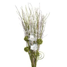 Christmas Bouquets - Silver and Green