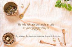 Ma vaisselle artisanale en bois sur Chaudron+Pastel+de+Mély