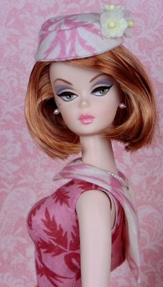 Strawberries & Cream for Silkstone Barbies by HankieChic on Etsy