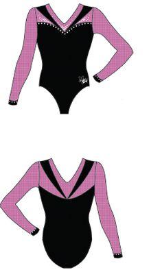 7c81fa2d71239 Gymnastics leotard design