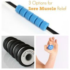 Got sore muscles from your workout? Need a little relief after exercise? We've got some products for you to check out.