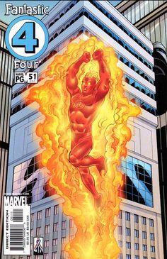 Cover Thumbnail for Fantastic Four (Marvel, 1998 series) Marvel Comics Art, Fun Comics, Marvel Heroes, Marvel Vs, Fantastic Four Comics, Mister Fantastic, Marvel Universe, Comic Book Covers, Comic Books